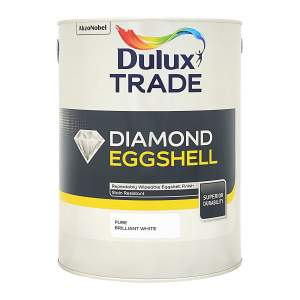 Diamond Eggshell Pure Brilliant White