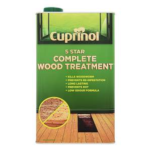 5 Star Complete Wood Treatment Clear
