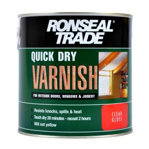 Quick Drying Varnish Gloss Clear