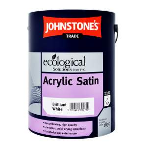 Acrylic Satin Brilliant White