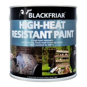 Heat Resistant Paint Black
