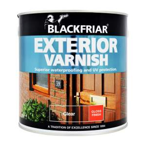 Exterior Varnish Gloss Clear