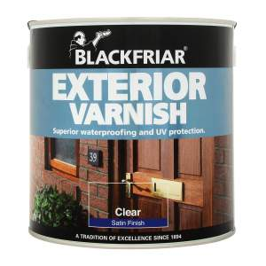 Exterior Varnish Satin Clear
