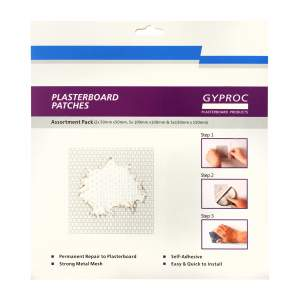 Plasterboard Patches Assorted Pack of 12