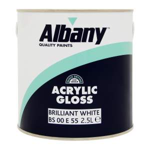Acrylic Gloss Brilliant White