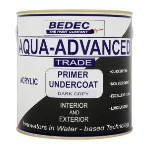 Aqua-Advanced Primer Undercoat Dark Grey