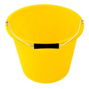 Builders Bucket Yellow