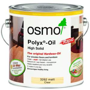 Polyx Hardwax-Oil Rapid Matt Clear