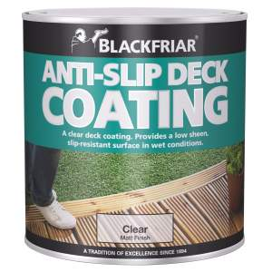 Anti Slip Deck Coating Clear