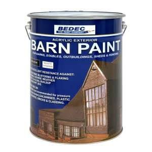 Barn Paint Matt Black