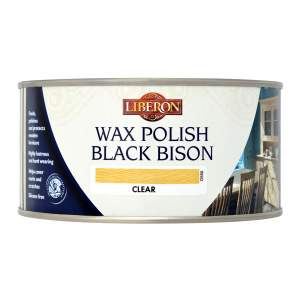 Black Bison Wax Paste Satin Golden Pine