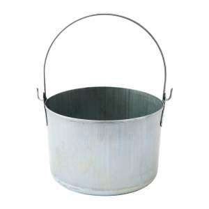 Galvanised Seamless Kettle