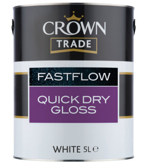 The Crown FastFlow system provides a finish which lasts.