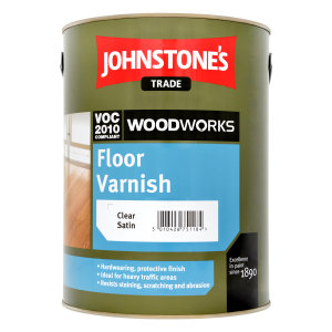 Floor Varnish Satin Clear