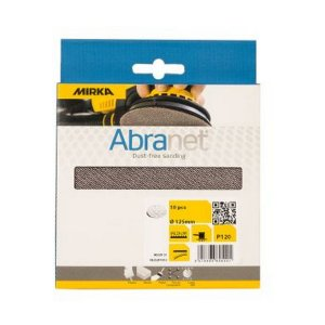 Abranet 125MM P120 Pack of 10