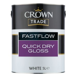 Fastflow Quick Dry Gloss White