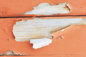 Flaking - often caused by moisture under the paint or varnish