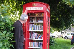 A beautiful new book exchange for the people of Seend