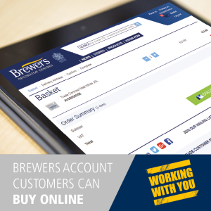 More about Work smarter! Buy online with a Brewers account