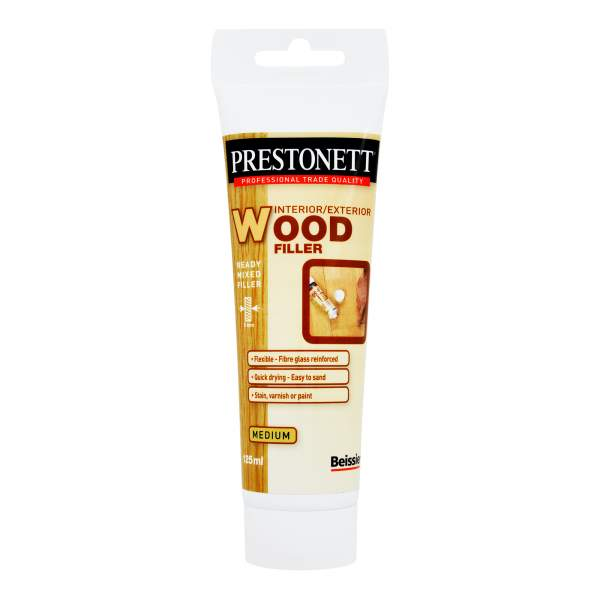 Prestonett Ready Mixed Wood Filler Medium