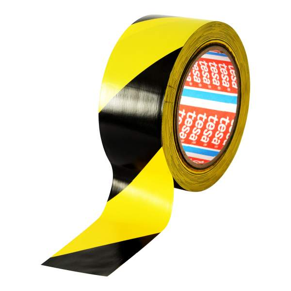 Floor & Lane Mark Tape Black/Yellow