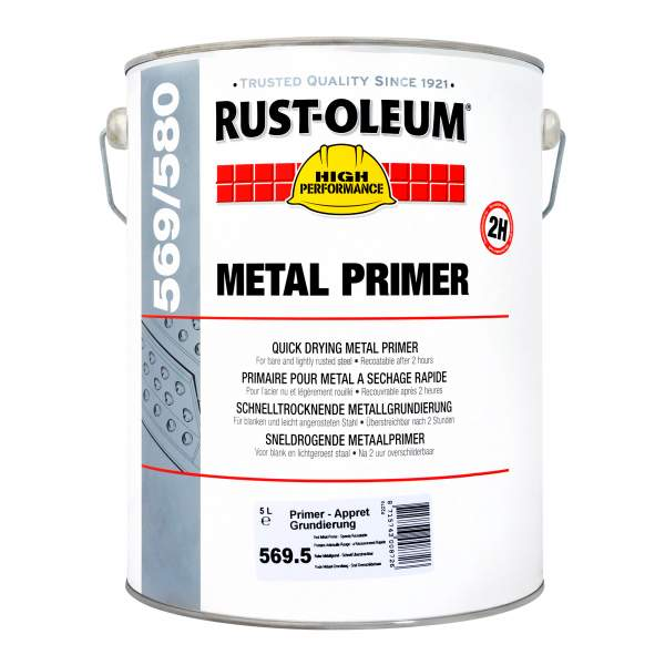 Rust-Oleum Industrial Metal Primer 569 Red 5L