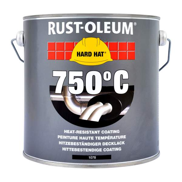 2100 Hard Hat Topcoat Heat Resistant Black 1078