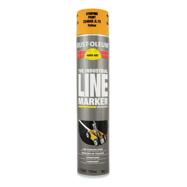2300 Hard Hat Line Marking Spray Yellow