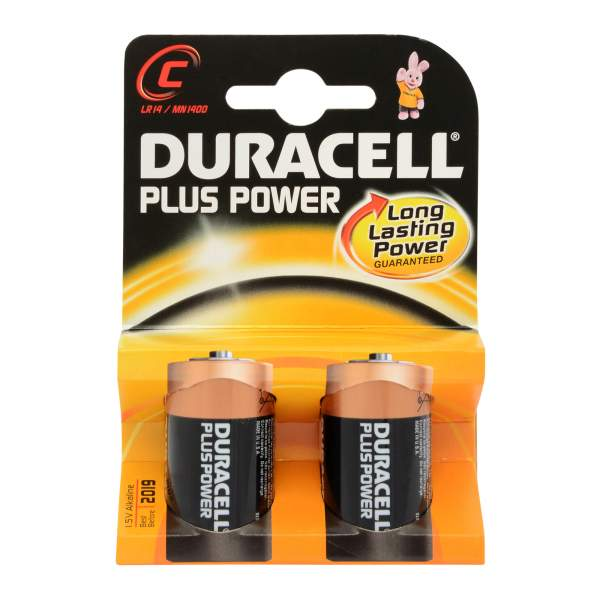 Plus Power Batteries C Pack of 2