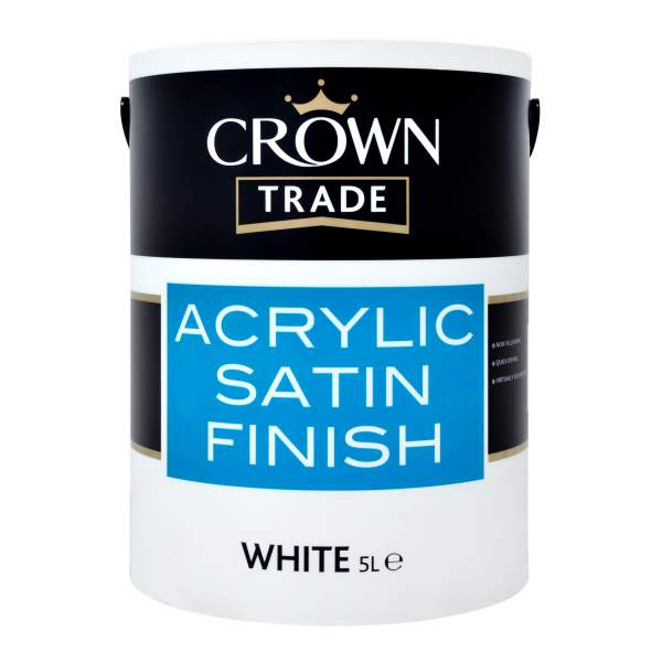 Acrylic Satin White