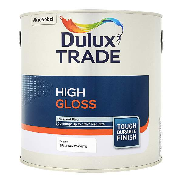 High Gloss Pure Brilliant White