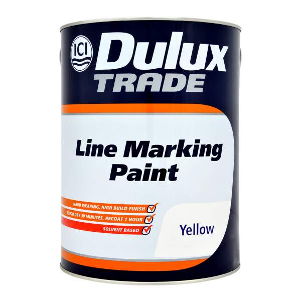 Line Marking Paint Yellow