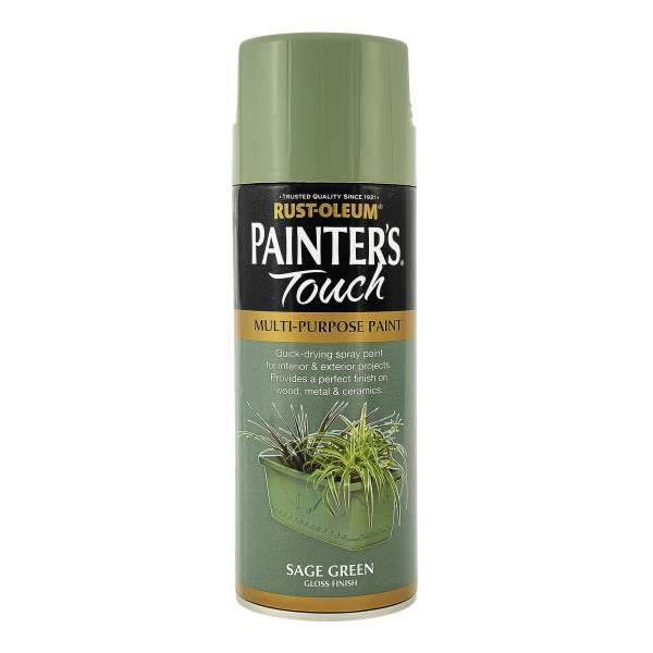 rust oleum painters touch gloss sage green 400ml