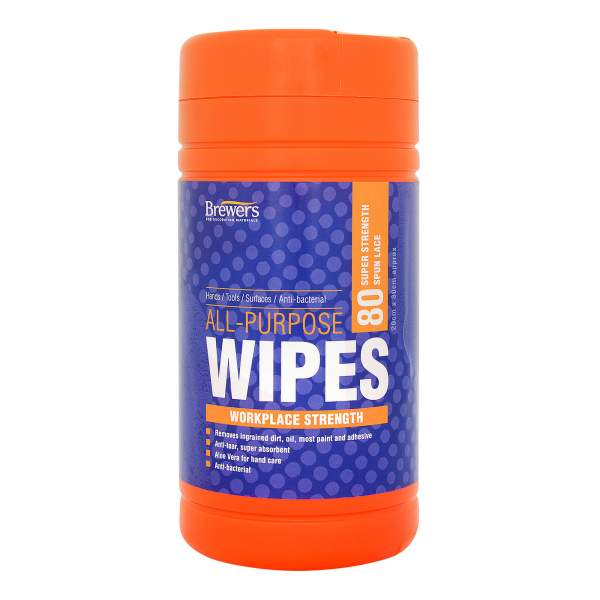 All Purpose Wipes Tub Of 80
