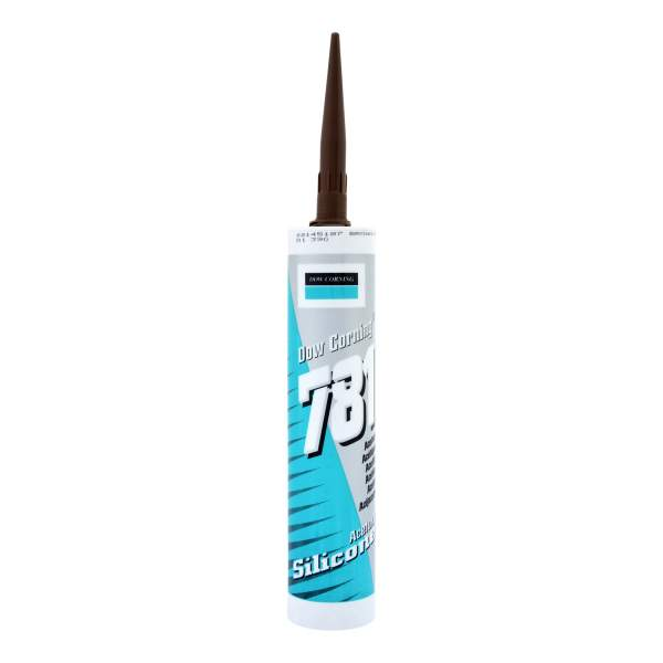 781 Acetoxy Sealant Brown