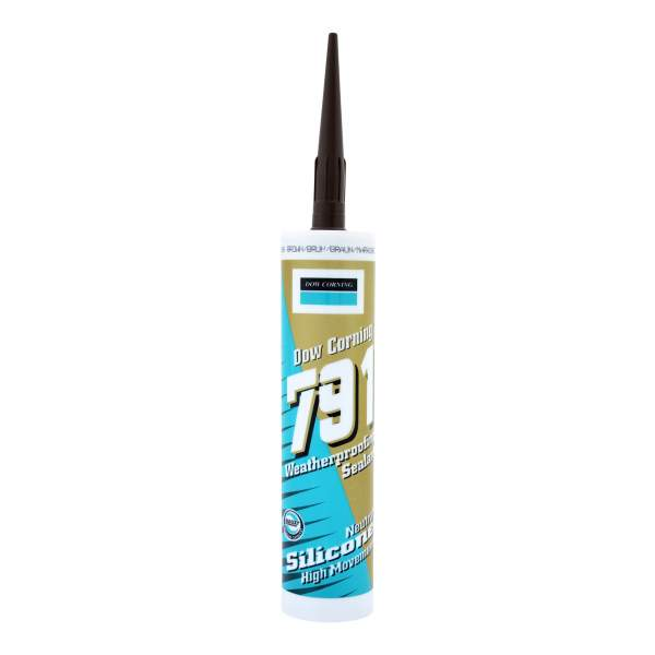 791 Water Proof Silicone Sealant Brown