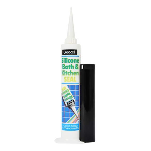 Silicone Bathroom & Kitchen Sealant White