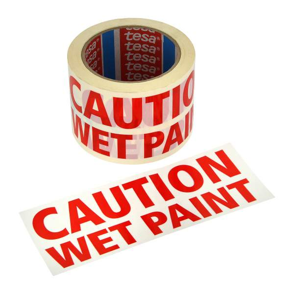 Wet Paint Tape