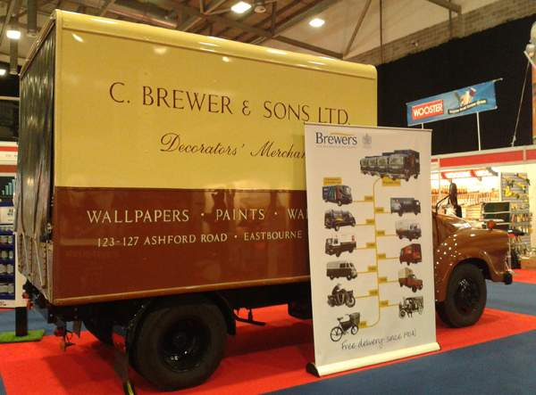 The Brewers Bedford Van - a blast from the past!