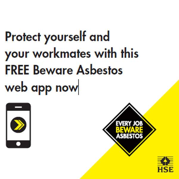 Protect yourself and your workmates with the FREE Beware Asbestos web app