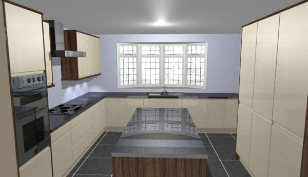 CAD designed kitchens available from Brewers