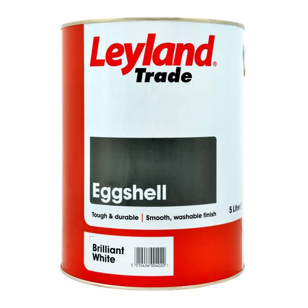 Eggshell Brilliant White