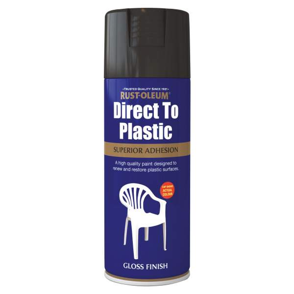 Direct To Plastic Black Gloss