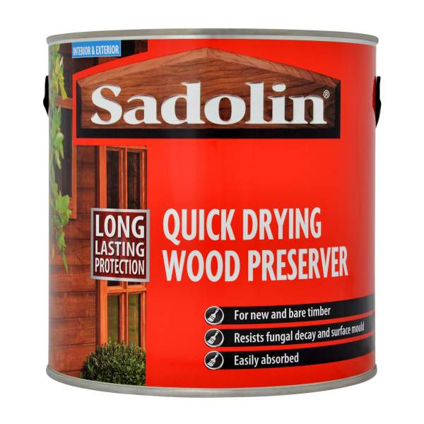 Quick Drying Wood Preserver Clear
