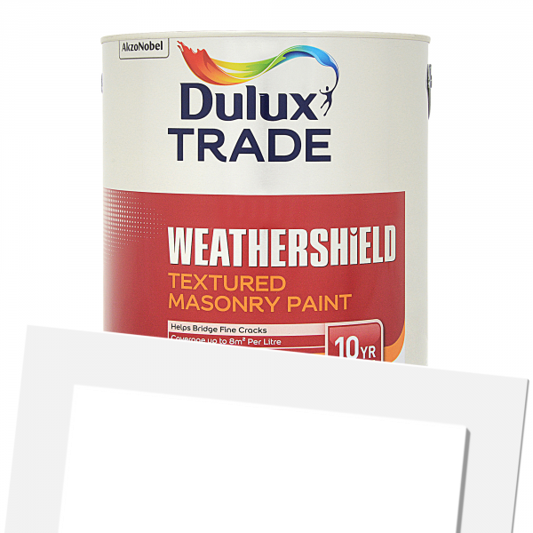 Dulux Trade Weathershield Textured Coloured 5L