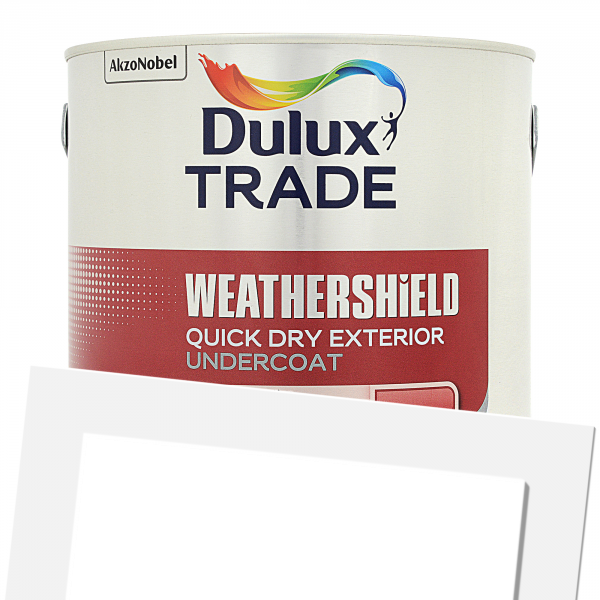 Beautiful Weathershield Exterior Quick Drying Undercoat