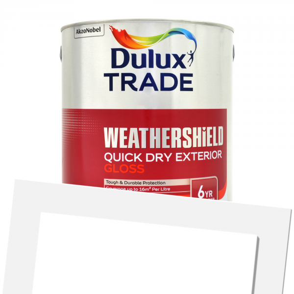 Weathershield Exterior Quick Drying Gloss (Tinted)