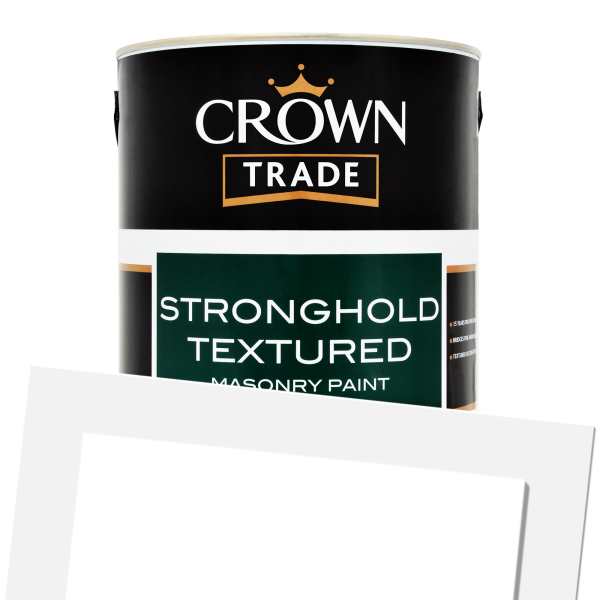 Crown Trade Stronghold Textured Masonry Colour 5L