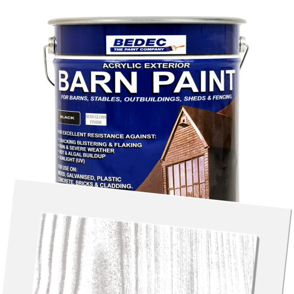 Barn Paint Woodstain Semi Gloss (Ready Mixed)