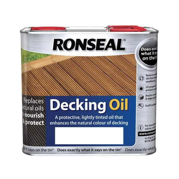Decking Oil Matt Clear